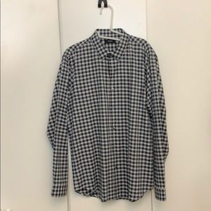 Theory Plaid Shirt